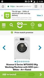 Hisense 6KG washing machine