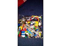 LEGO lot: 3 kgs Assorted Loose LEGO Bricks