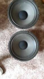 2 celestion g12 30s for sale