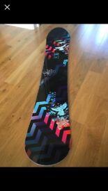 Women's Salomon Lark Snowboard 156cm