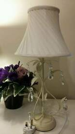 Gorgeous Cream Shabby Chic Lamp