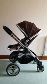 Icandy Peach pushchair with Matching footmuff
