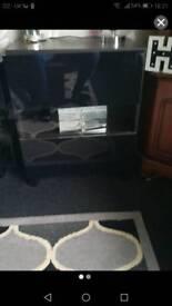 Wooden glass door unit