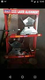 Sealey 4 wheel laser alignment