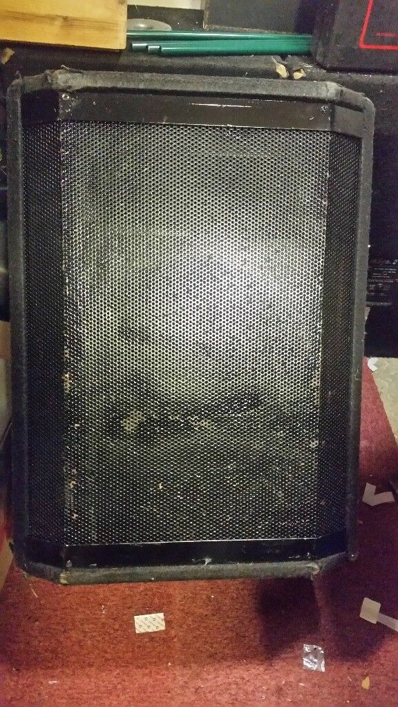 Peavey PA Speakers- (Bargain of the year)