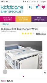 Kiddicare cot top changer