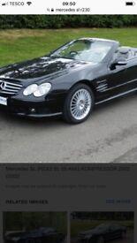 Mercedes Sl r230 parts needed