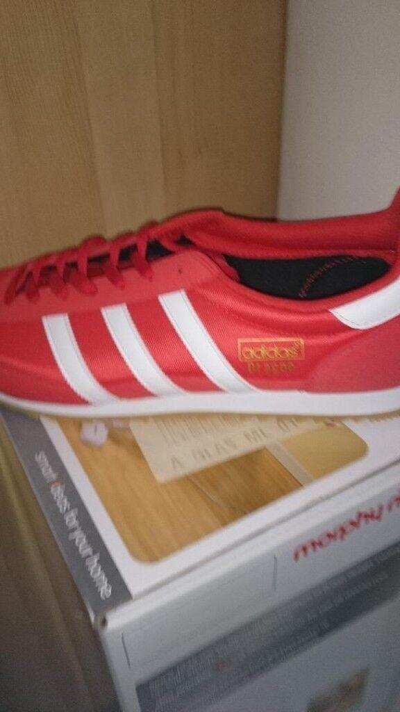 Original Mens Adidas  Dragon  Trainers  246a80557