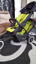 Phil & teds dot double buggy great condition