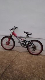 Mountain Bike childs 12 inch frame