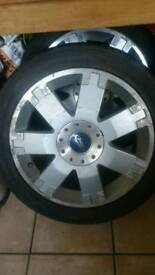 ",,,,wanted,,,,, (2) 17"" 5x108 Ford mondeo alloys same as picture"