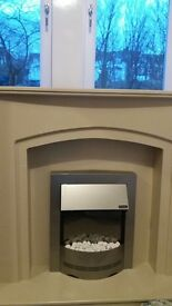 Fire place for sell***new..only 6months old*** with dimplex electric fire