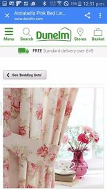 Lovely curtains and bedding set
