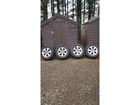 Mitsubishi L200 Alloy Wheels and tyres set of four