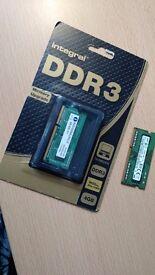 2 X 4gb notebook memory sticks