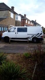 Lwb t4 transporter project lots of parts replaced complete van