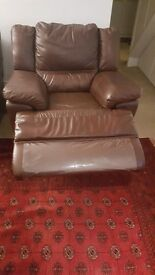Recliner leather sofas 3 + 2 +1