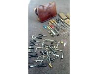 Rare vintage Post office telecoms tools and bags