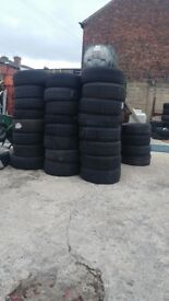 Variety of tyres
