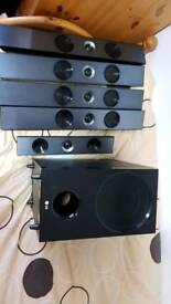 LG 5.1 surround sound system RRP: £500