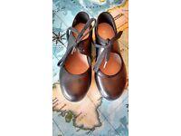 Black tap shoes. Size 11.