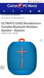 Brand new Sealed UE Wonderboom speaker