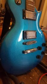 gould les paul in metallic blue(sale/trade)