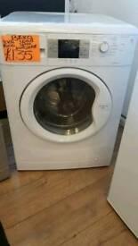 BEKO 8KG LOAD 1400 SPIN WASHING MACHINE IN WHITE