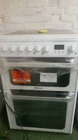 Hotpoint ultima double electric cooker