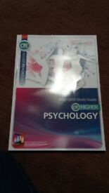 Higher Psychology Bright Red publishing study guide