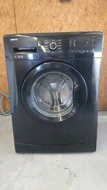 Beko WMB71231B 7kg 1200rpm Freestanding Washing Machine in Black