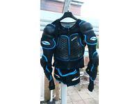 Moto Cross body armour protection Enduro Trials Xl Sinisalo