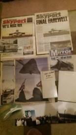 Concorde memorabilia