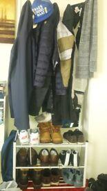 shoe and coat rack!