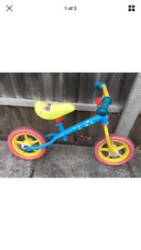 Little times balance bike £10