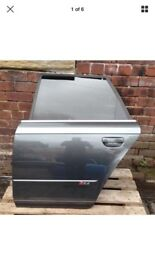 Audi RS4 Genuine Nearside Rear Door Grey