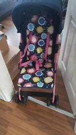 mothercare's girls pushchair