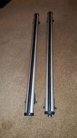 astra estate roof bars will fit other cars with closed rail