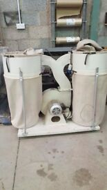 Double Dust Extractor Unit