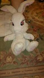 Mechanical battery operated bunny toy