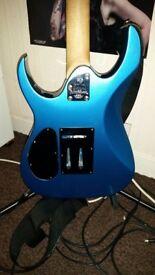 Electric guitar (washburn WR150 rocker series)