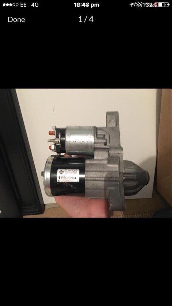 Nissan starter motor