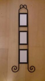 Iron picture frame 9 x 14 cm picture size