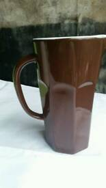 Brown retro french style jug for sale