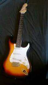 Rock star 6 string electric quitar