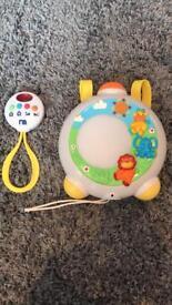 Mothercare Animal Safari Baby Projector