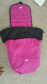 Joey nitro buggy rain cover and reversible footmuff