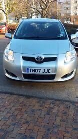 Toyota Auris 1.6 TR VVT-i. Low mileage, very clean car. FSH. 12 months MOT.