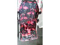 cossatto flamingo fling pushchair.