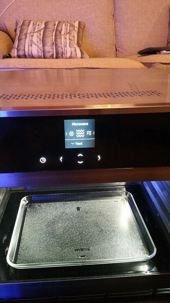 Integrated Neff Microwave Designed To Fit Into An Oven Housing And Not A Wall Unit